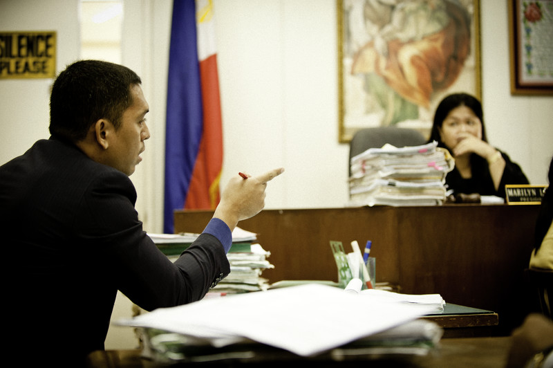 IJM Philippines lawyer in Philippines court. Source: IJM